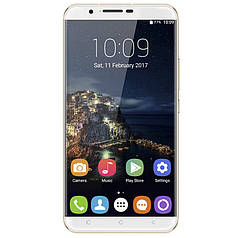 "☞Смартфон 6"" OUKITEL U16 Max, 3/32GB Gold камера 13 Мп 4000 mAh Android 7.0 экран 2.5D"