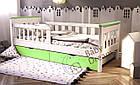 Детская кровать белая от 3 лет Infiniti, фото 5