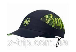 Кепка Buff Pack Run Cap R-Flash Logo Black