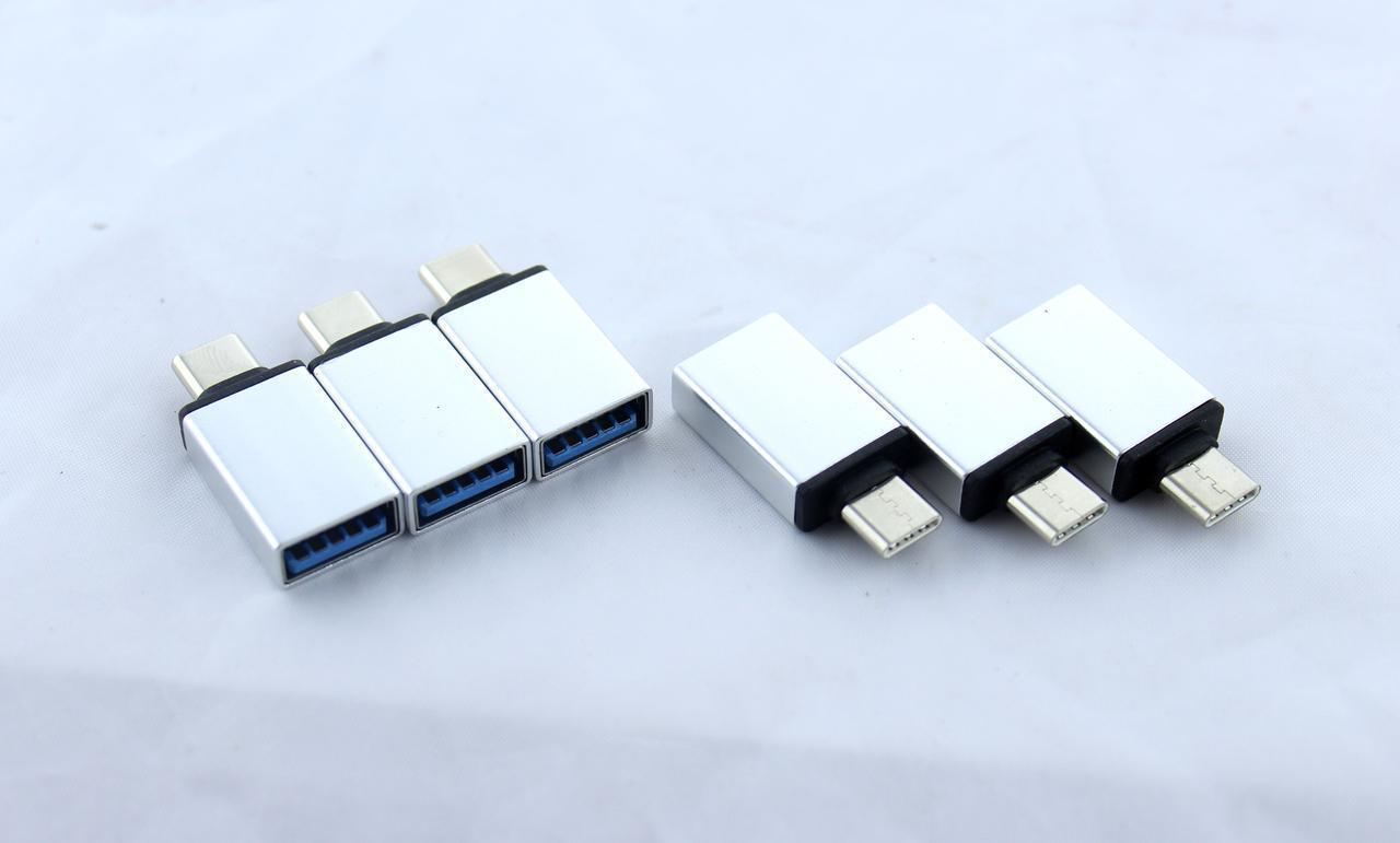 Переходник OTG USB - Type-C (6000) \ в 100 уп.