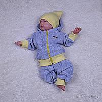 Велюровый спортивный костюм на детей Favorite 6-18 месяцев
