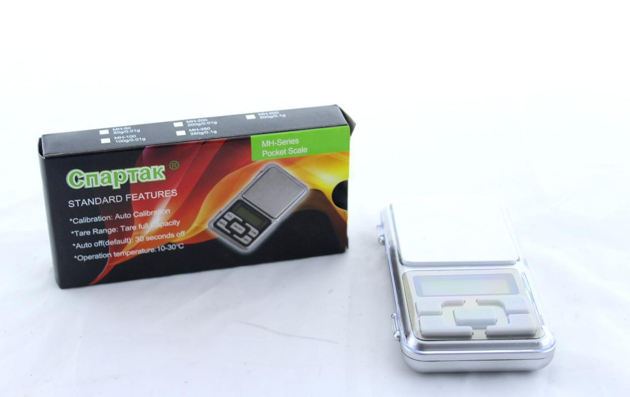 Весы ювелирные электронные СПАРТАК ACS200gr/0.01g