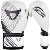 Боксерские перчатки Ringhorns Nitro White 10oz, фото 1
