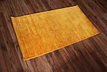 Ковер из натуральной шерсти оранжевого цвета тканный вручную, фото 3