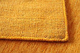 Ковер из натуральной шерсти оранжевого цвета тканный вручную, фото 5