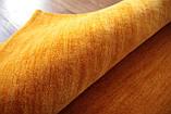 Ковер из натуральной шерсти оранжевого цвета тканный вручную, фото 6