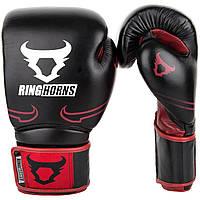 Боксерские перчатки Ringhorns Destroyer Black/Red 10oz, фото 1