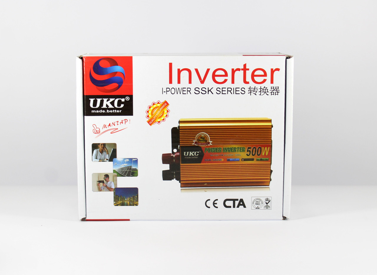 Преобразователь / автомобильный инвертор UKC  AC/DC SSK 500W 24V
