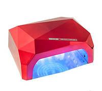 УФ LED+CCFL лампа для маникюра 36 Вт красная