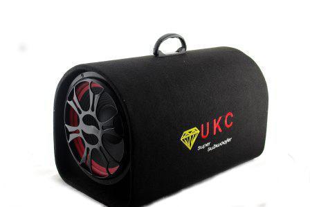 "Колонка 10"" Сабвуфер UKC 1008 Bluetooth FM 12В /220В"