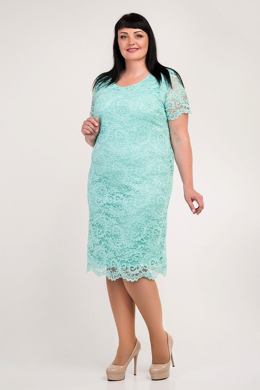 af025bda1fb Женское платье больших размеров Алексис 54