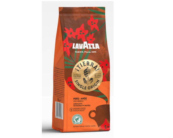 Кофе молотый Lavazza Tierra  180g, фото 2