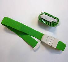 Жгут автоматический многоразовый - для взрослых 2.5*50 см, зеленый