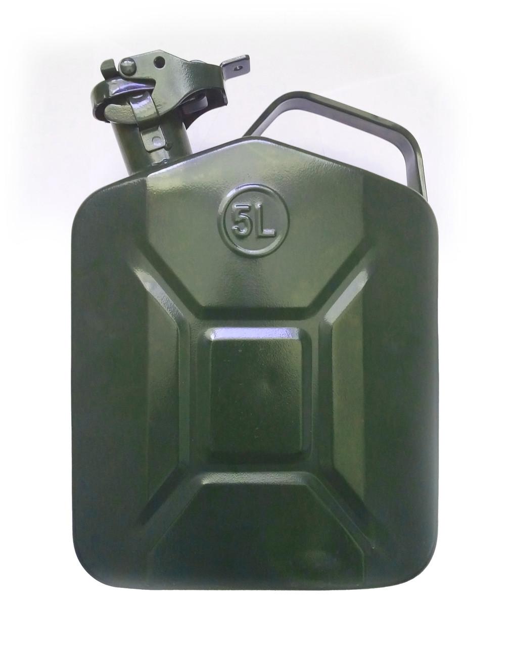 Металлическая канистра EcoKraft, 5 л   купить алюминиевую канистру 5 литров