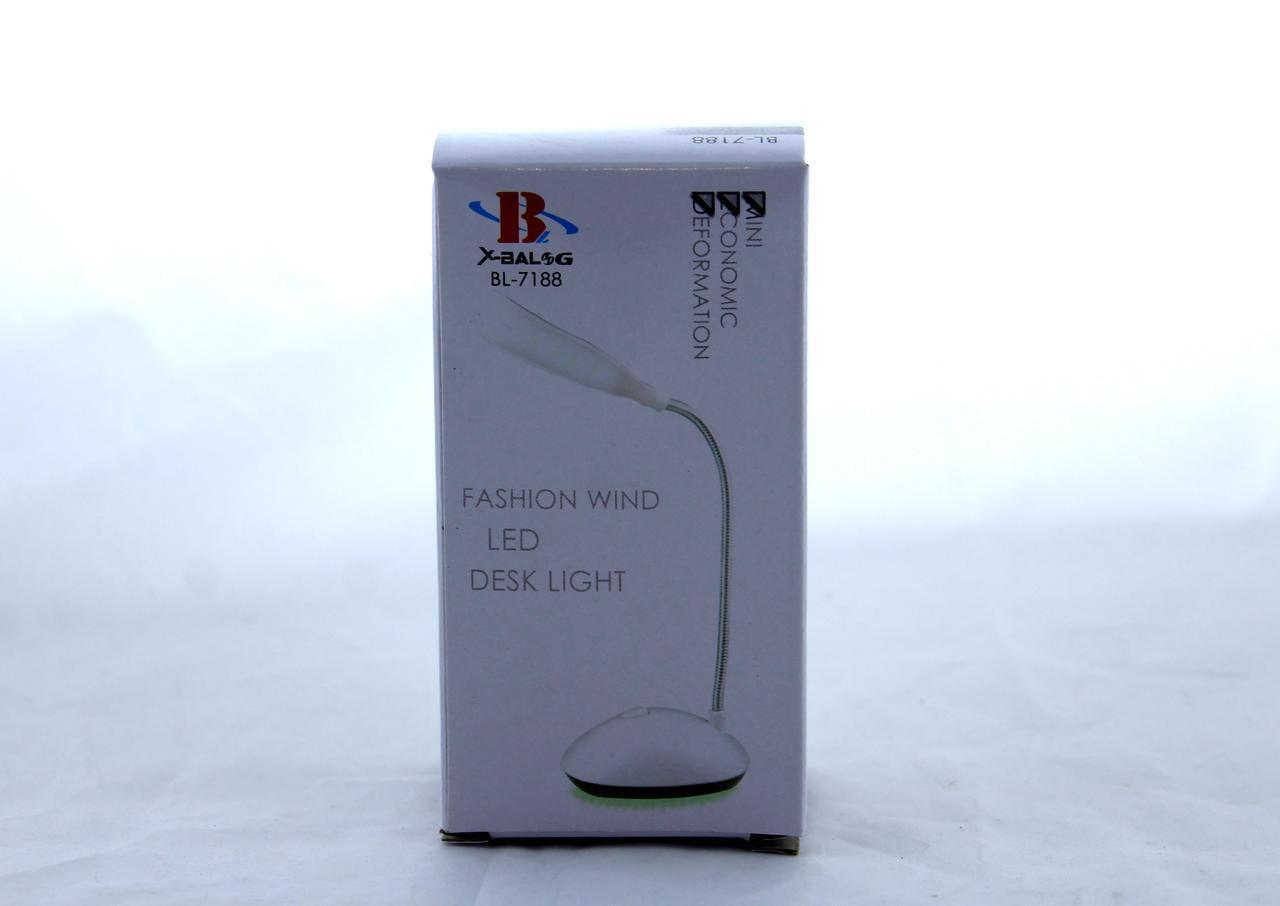 Настольная LED лампа 7188