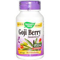 Экстракт Годжи, Nature's Way, 400 мг, 60 капс.