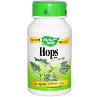 Хмель (цветы), Nature's Way, 310 мг, 100 кап.