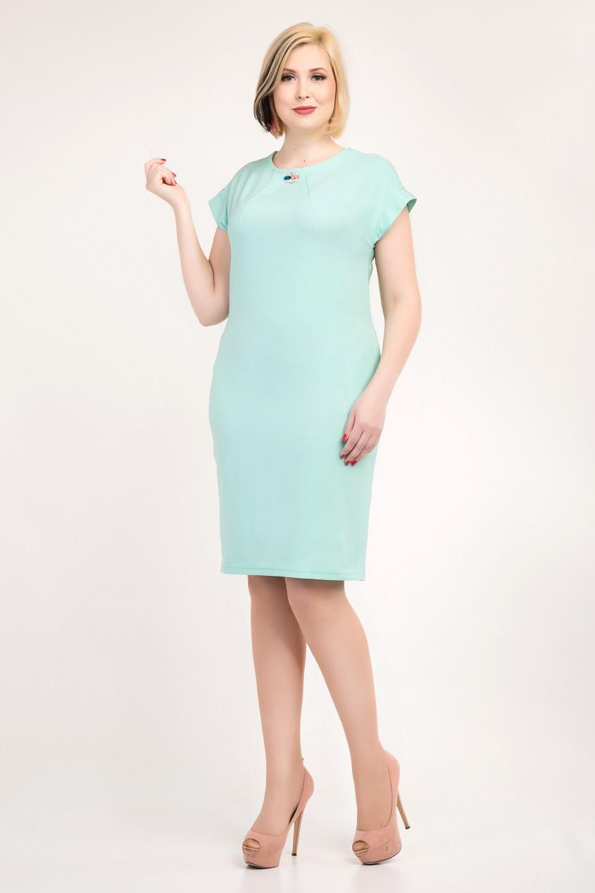 8726396eda15 Женское платье больших размеров Гвен 48, 50, 52, 54 оптом и в розницу