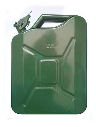 Канистра металлическая EcoKraft 20л  канистра металлическая 20л, фото 2