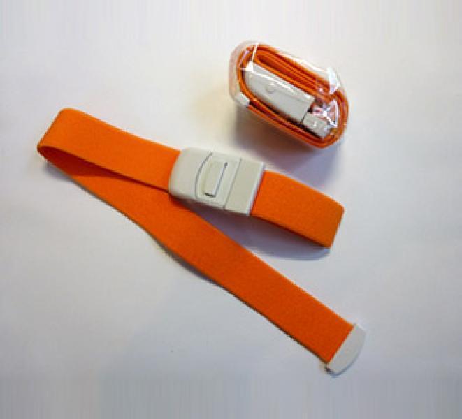 Жгут автоматический многоразовый - для взрослых 2.5*50см, оранжевый