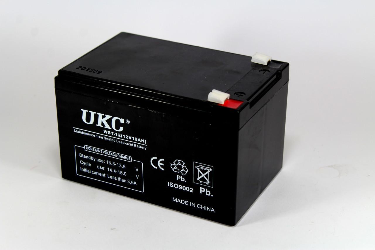 Аккумулятор 12V 12A UKC