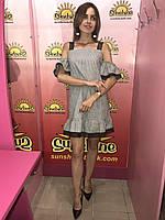 Женское льняное платье  Poliit 8507, фото 1