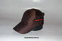 Бейсболка мужская GUCCI 0426 коричневая
