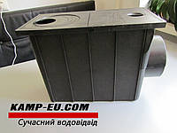 Дождеприемник с боковым выходом 110мм, черный, фото 1