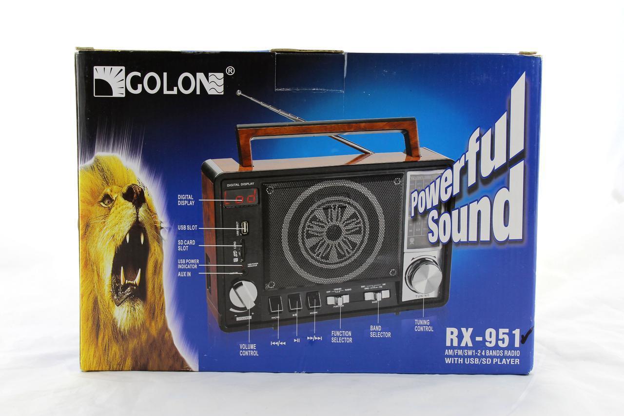 Радиоприемник Golon RX 951
