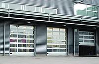 Промышленные ворота Алютех, фото 1