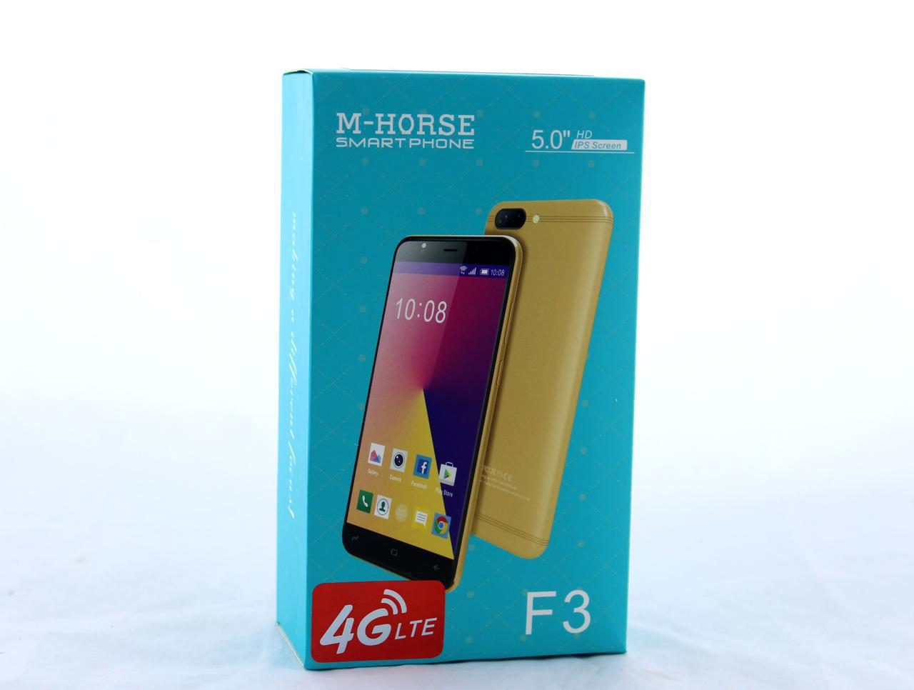 "Мобильный телефон / смартфон M-Horse F3 (5"") Oppo / face id / Android  (Black Blue)"