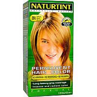 Краска для волос, Permanent Hair Color, Naturtint,  8N Пшеничный блонд, 150 мл.