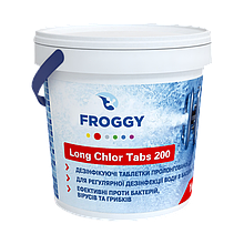 Long Chlor Tabs (таблетка 200гp) 1кг