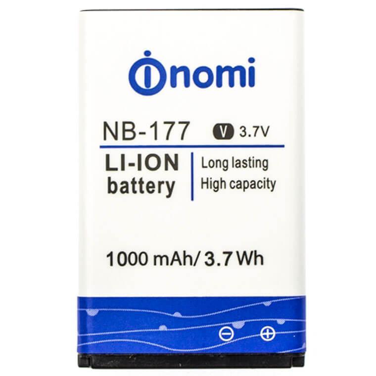 Аккумулятор Nomi NB-177 (Nomi i177, i180), 1000 mAh Оригинал