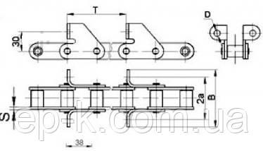 Цепи ТРД 38-4000-2-2-6-2, фото 2