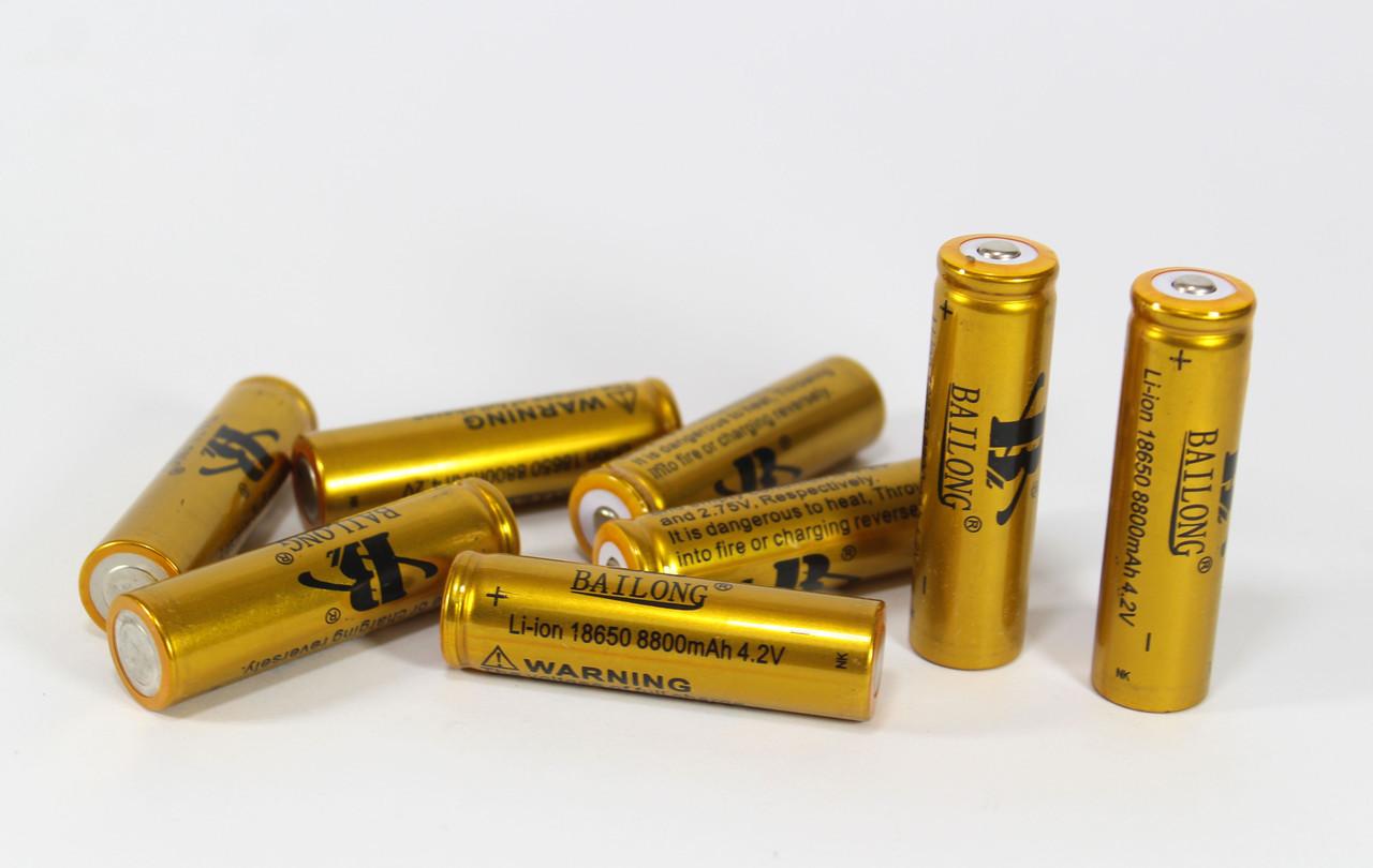 Аккумуляторная Батарейка BATTERY 18650 GOLD 8800 mAh