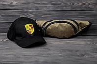 Комплект Бананка Asos, Кепка Ferrari ТОП РЕПЛИКА модель №5