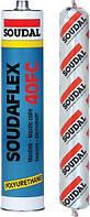 Герметик-клей быстроотверждающийся серый 600 мл SOUDAL (000020000000072602)