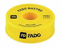 Фум лента FADO 12мм*0.1мм*12м*0.7г ГАЗ