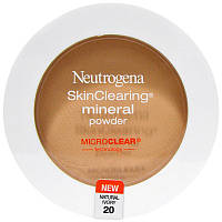 Neutrogena, Очищение кожи, минеральная пудра, натуральная слоновая кость 20, 0,38 унции (11 г)
