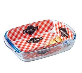 Форма для запекания стеклянная прямоугольная Pyrex O Cuisine 213BC00 23*15*4,5см
