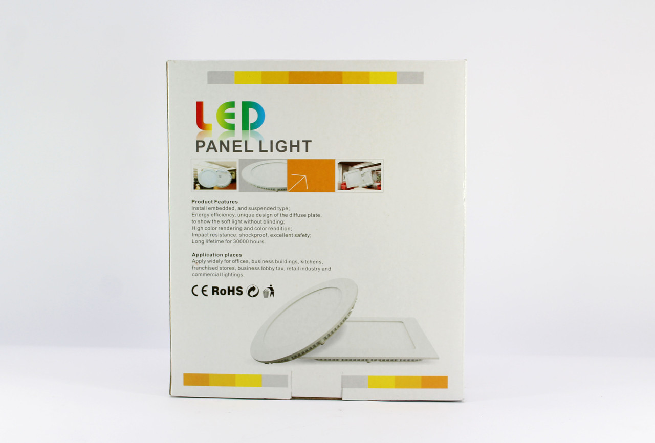 Лампочка светодиодная LED Lamp 15W Врезная круглая 1408