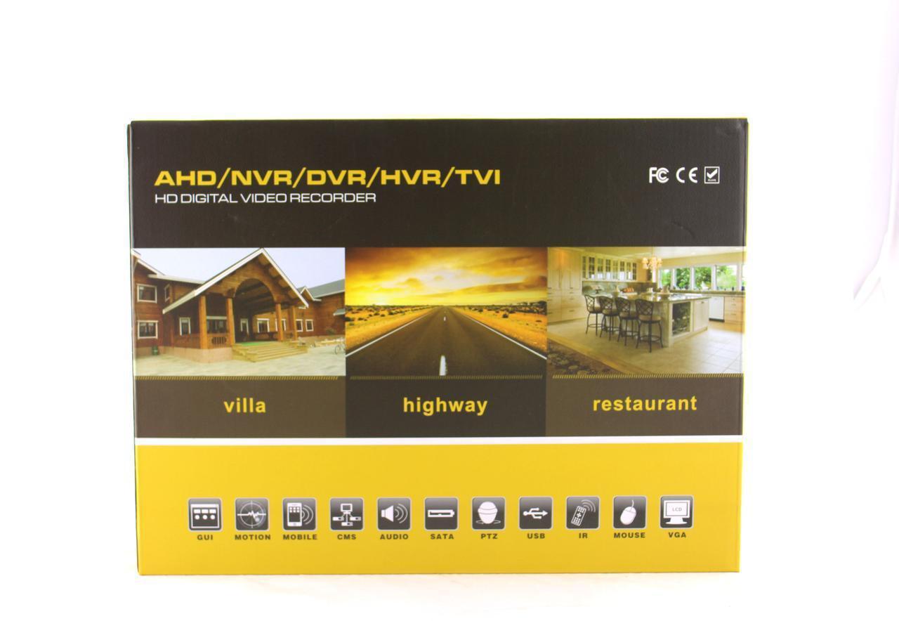 Стационарный4 - х канальныйвидеорегистратор DVR CAD 1204 AHD 4ch