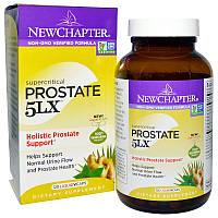 New Chapter, Простата 5LX, Целостная поддержка простаты, 120 вегетарианских капсул