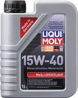 Минеральное моторное масло Liqui Moly MoS2 Leichtlauf 15W-40 1л