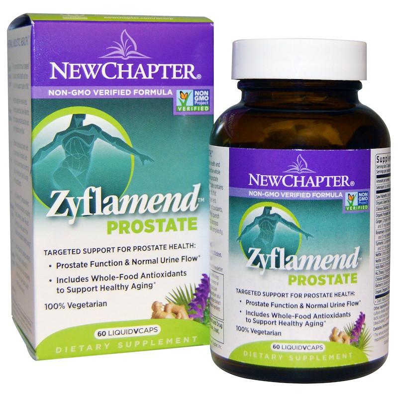 New Chapter, Зифламенд простата, 60 вегетарианских капсул