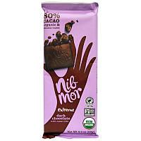 Темный шоколад с какао крупкой, Dark Chocolate, Nibmor, 62 г