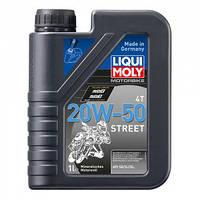 Минеральное моторное масло для 4-тактных мотоциклов Liqui Moly Motorbike HD Synth Street 20W-50 1л