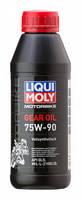 Синтетическое трансмиссионное масло для мотоциклов Liqui Moly Motorbike Gear Oil 75W-90 0.5л