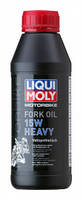 Синтетическое масло для вилок и амортизаторов Liqui Moly Motorbike Fork Oil Heavy 15W 0.5л